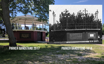 You can see the history in Gregory Park.