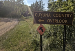 The lakes are integrated into the Cuyuna MTB area.