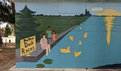 Local artists add to the parks history.