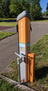 You'll find these all over the trail system in Minnesota. Quite handy.